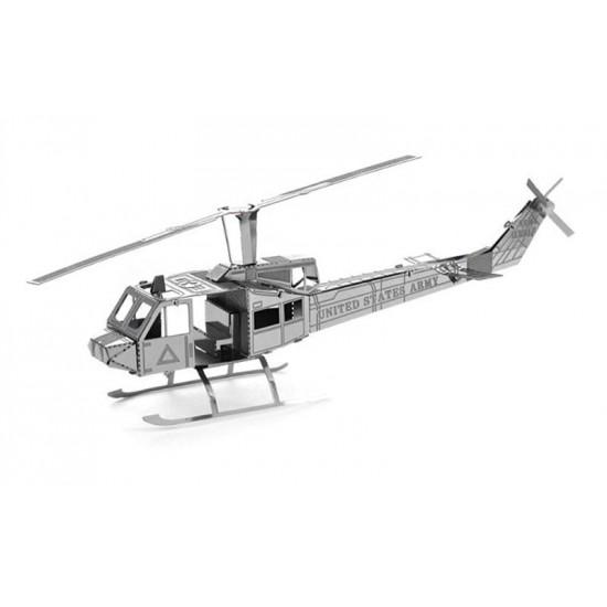 3D kovové puzzle Vrtulník