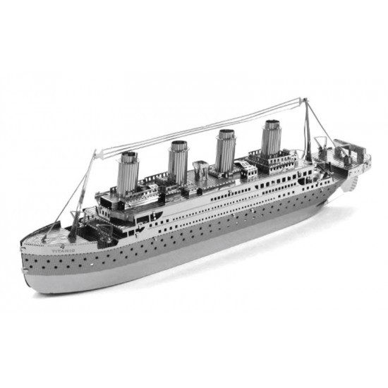 3D kovové puzzle Titanic