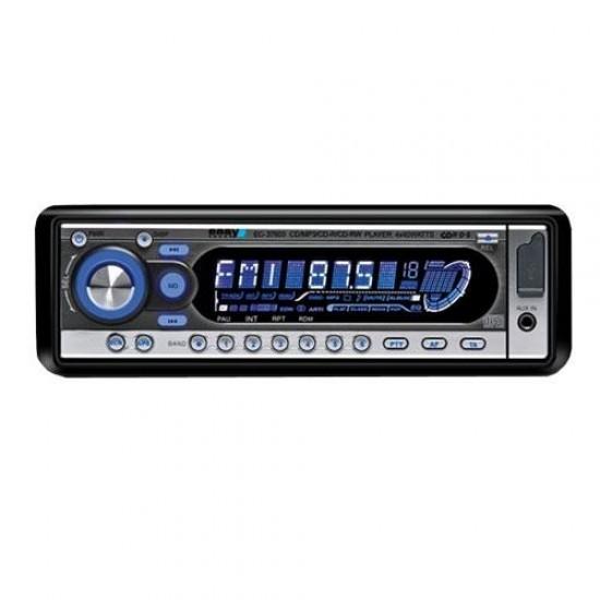 Autorádio EC-37603 PRIME (CD/MP3/USB/RDS/AUX IN/dál.ovl.)