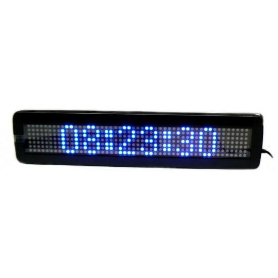 LED tabula 7x50 led, modrá, vnutorná