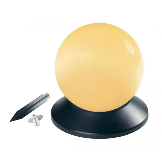 Solárne plávajúce svietidlo v tvare gule
