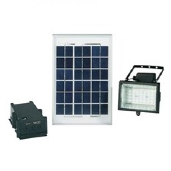 Solárny LED reflektor 6 V