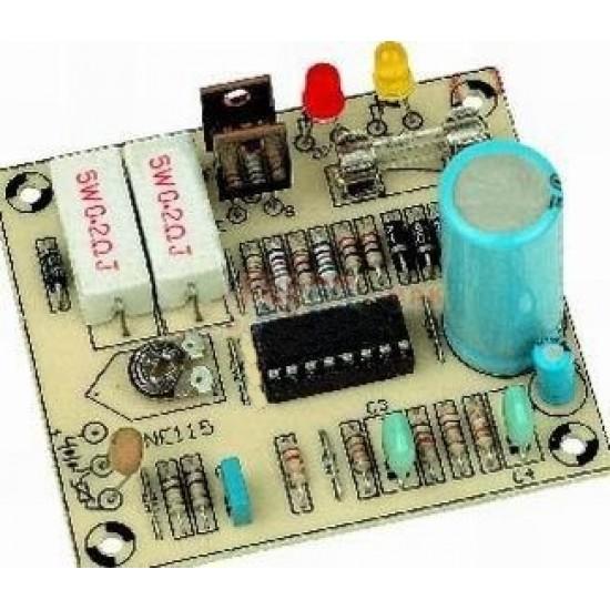 Stavebnica NE115 Mini nabíjačka akumulátorov