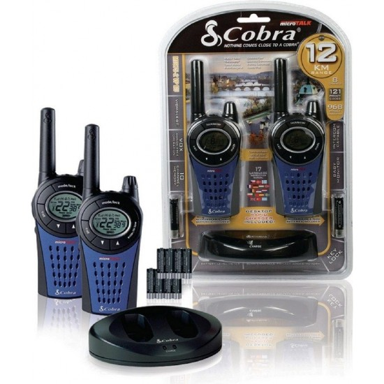 Vysielačky Cobra MT975 2ks max. dosah 12km